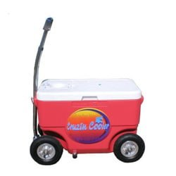 Non Motorized Ride-able Cooler Wagon