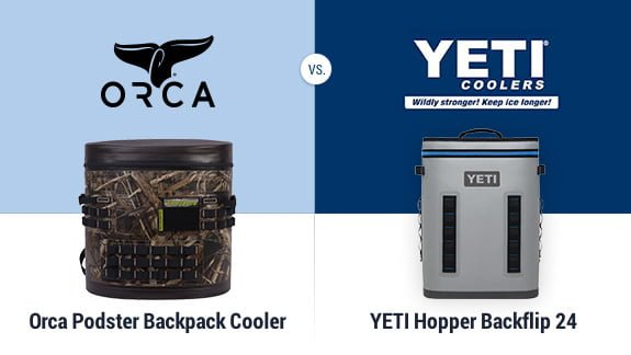 Orca Backpack vs YETI Hopper