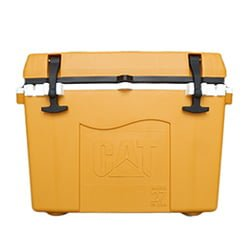 Caterpillar Cat cooler yellow