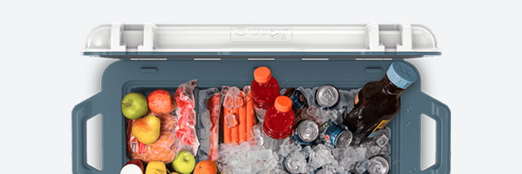 otterbox cooler Capacity
