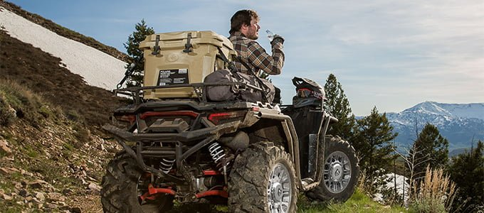 polaris lock and ride cooler