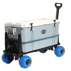 Cooler Cart Carrier Wagon