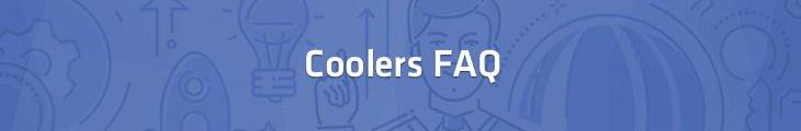 coolers faq