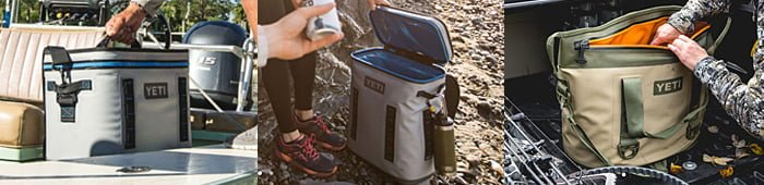 hopper yeti soft sided coolers