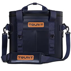 tourit soft cooler blue