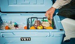 yeti ice chest