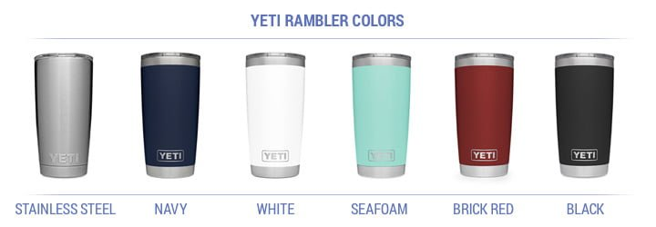 yeti rambler color