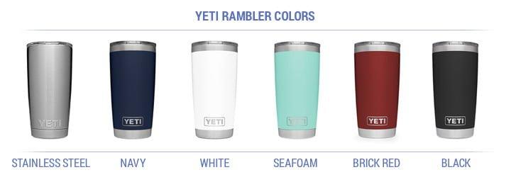 yeti rambler color