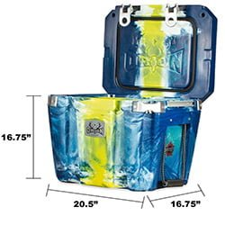 orion travel cooler size