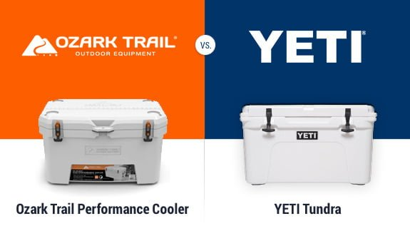 ozark trail vs yeti tundra cooler