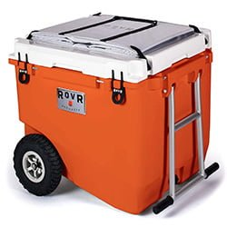 rovr wheeled camping cooler