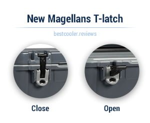 magellan T-latch closures