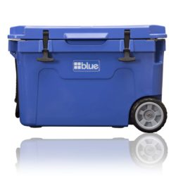 Blue Coolers Rolling 55-QT Ice Chest