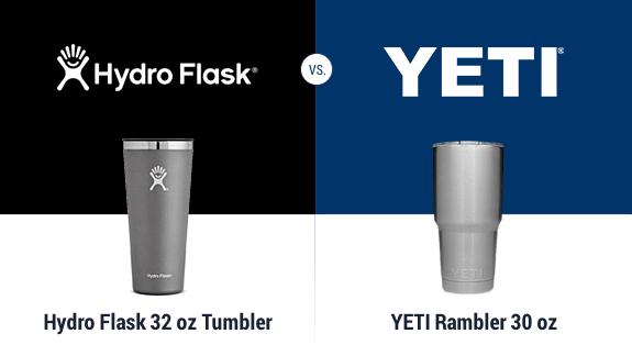 Yeti Tumbler vs Hydro Flask Tumbler