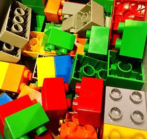 lego DIY ice cubes