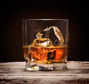 whiskey ice ball tray