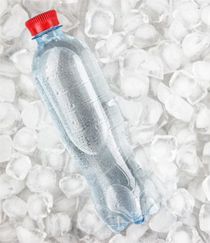 ice to keep food drink cold