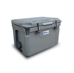 55 Qt Ice Vault Roto Molded Blue Cooler