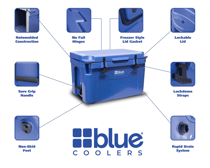 blue coolers Features Benefits