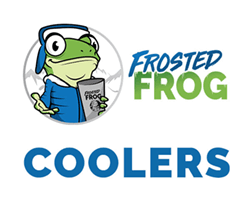 frosted Frog coolers