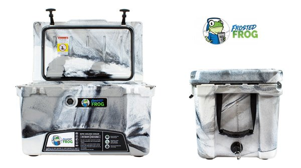 frosted Frog ice chest