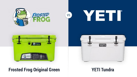 frosted frog vs yeti coolers