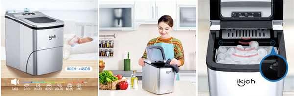 IKICH Portable Ice Maker