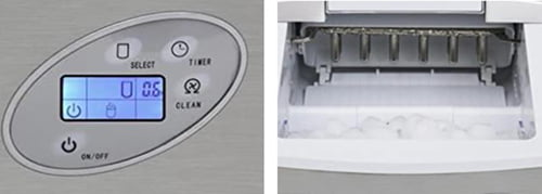 Whynter Portable Ice Maker with Water line