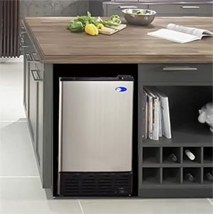 best under cabinet ice maker