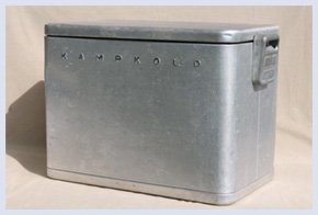 history ice chest Kampkold
