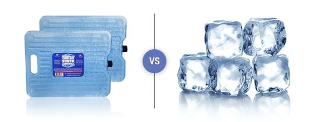 Cooler Shock vs. Regular Ice