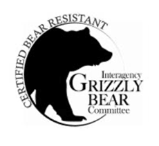 IGBC Certified Bear proof coolers logo