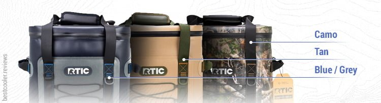 Rtic colors of backpack