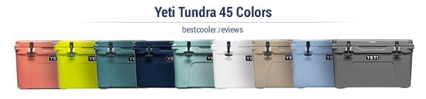 Yeti tundra 45 colors