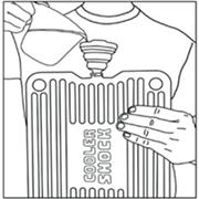 cooler shock instructions steps