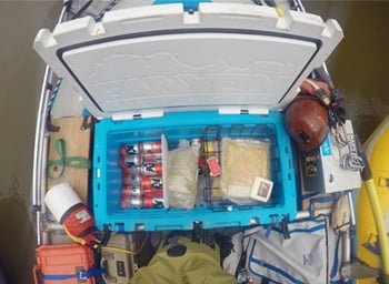rafting ice chest