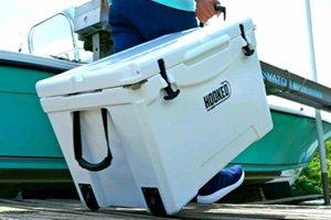 hooked wheeled ice chest 75