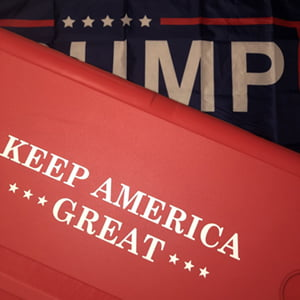 Keep America Great trump cooler