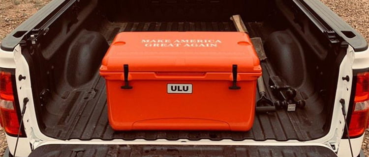 Trump ice chest