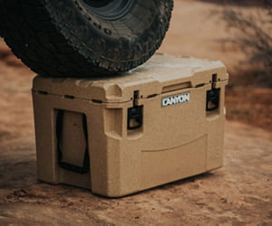 Canyon lifetime warranty cooler