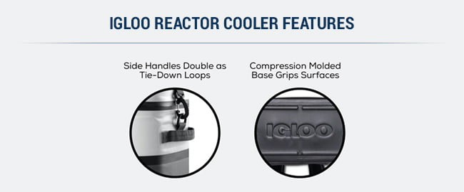 igloo reactor soft cooler features