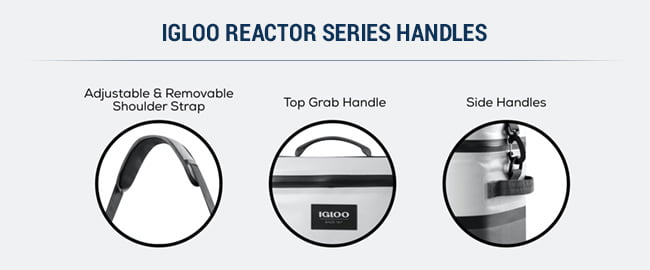 reactor soft cooler features