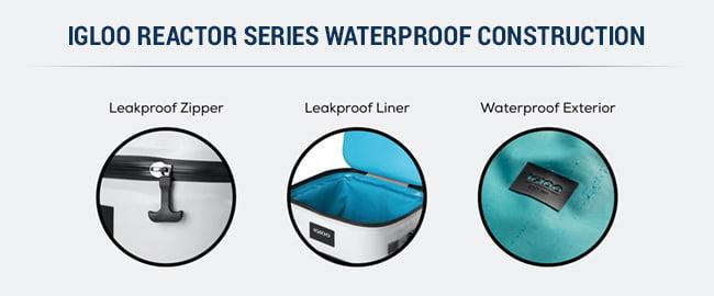 waterproof igloo reactor