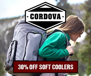 Cordova Coolers Holiday Sale - 30% Off